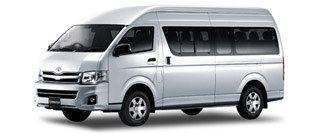 One Day Minibus and driver hire in Chiang Mai